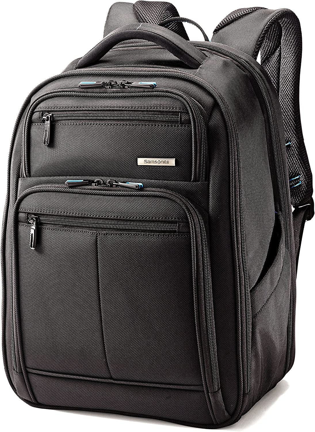 The Samsonite Novex Perfect Fit Laptop Backpack travel product recommended by Tracy Anderson on Lifney.