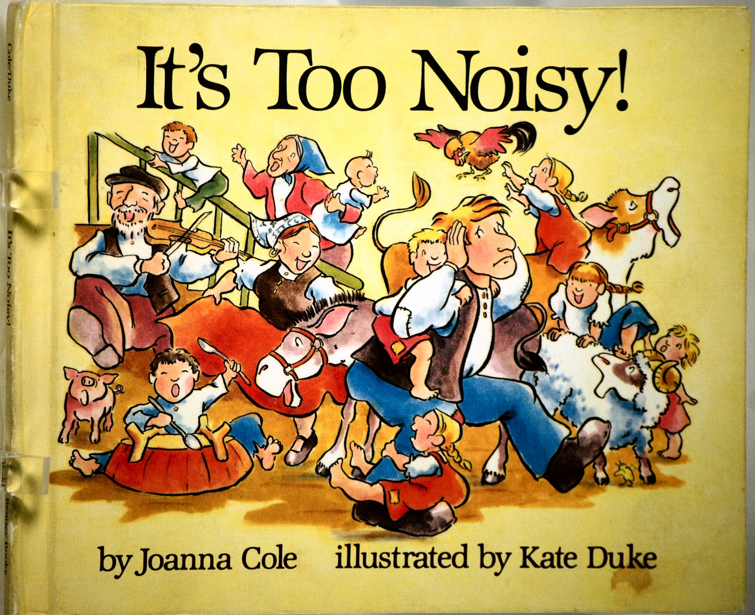 It's too noisy!: Joanna Cole: ...