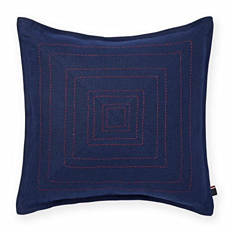 Amazon Tommy Hilfiger Pick Stitched Decorative Pillow Navy Cool Tommy Hilfiger Decorative Pillow Coussin Almohada