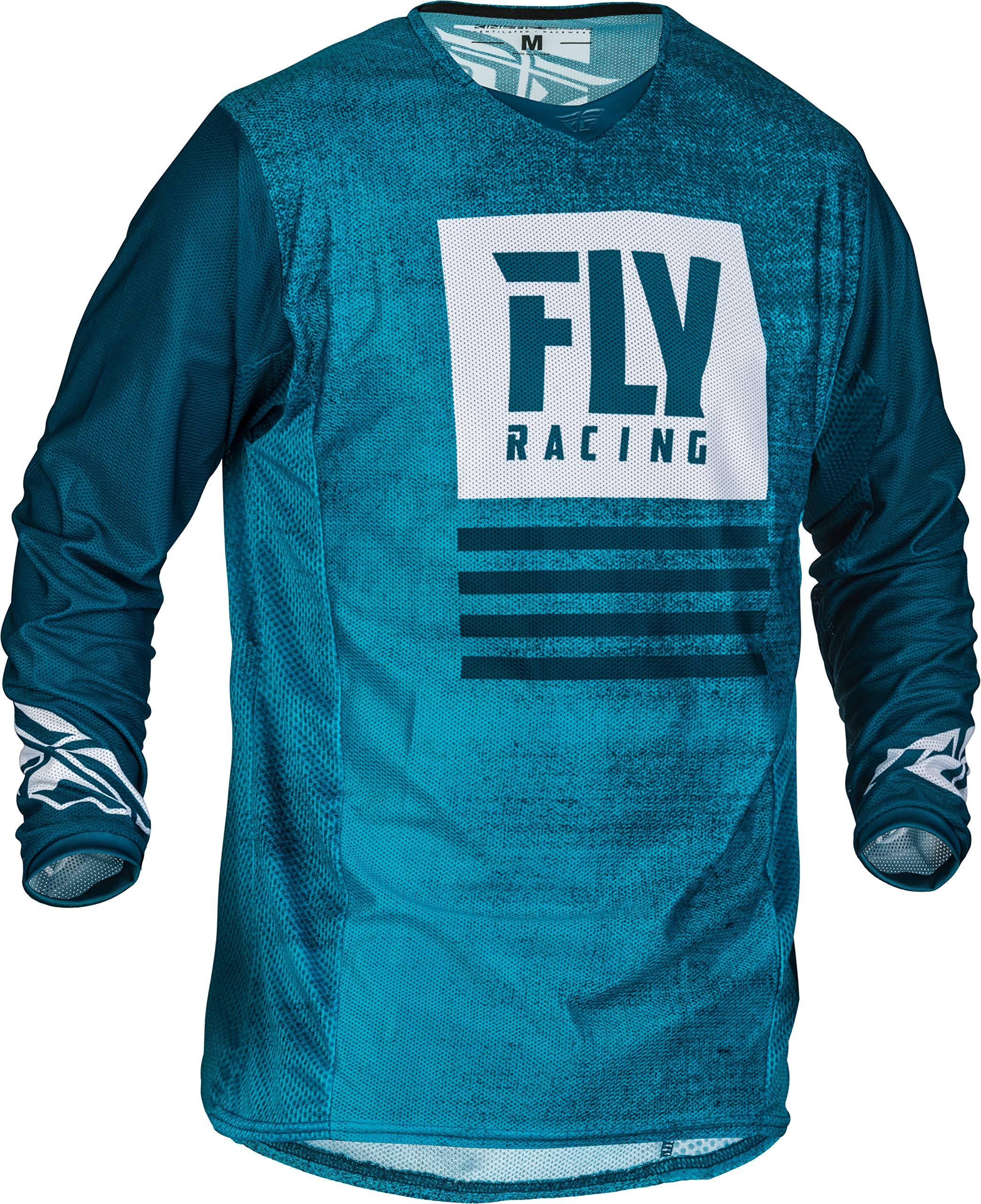 Fly Racing 2019 Kinetic Mesh Men's Motocross Gear Combo (Blue/Navy) (Large/34'' Waist)