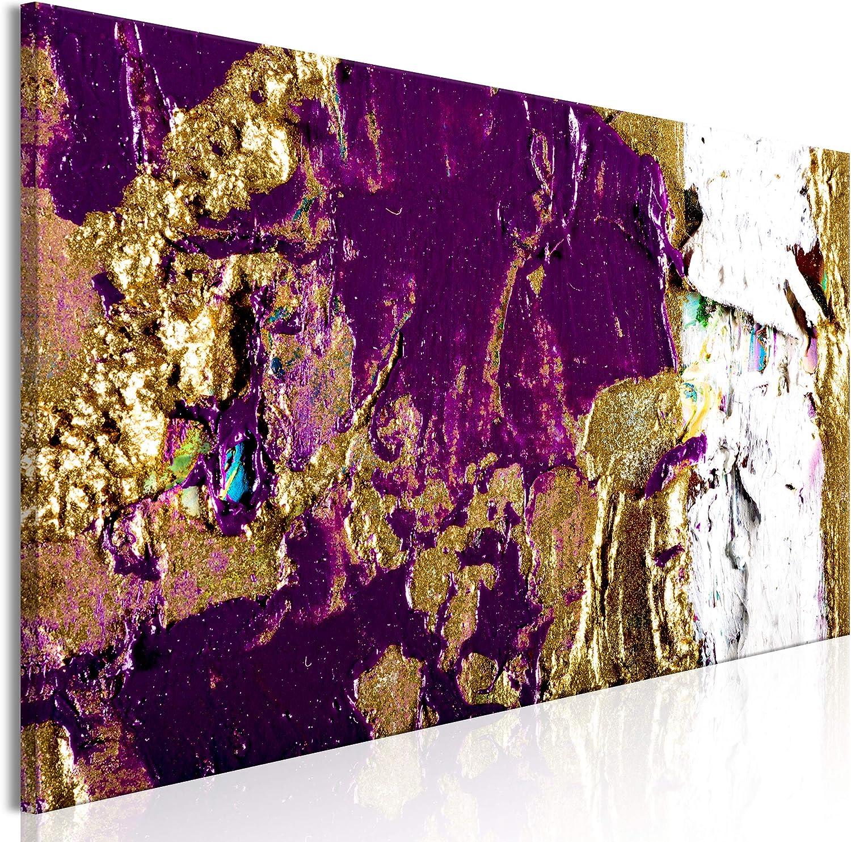Tableau Mural Image sur Toile Photo Images Motif Moderne D/écoration tendu sur Chassis color/é decomonkey 1 Piece Impression sur Toile intiss/ée Abstraktion Abstrait 120x40 cm