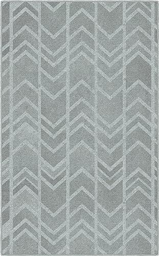 Brumlow Mills Conrad Arrows In Gray Rug, 5 x 8