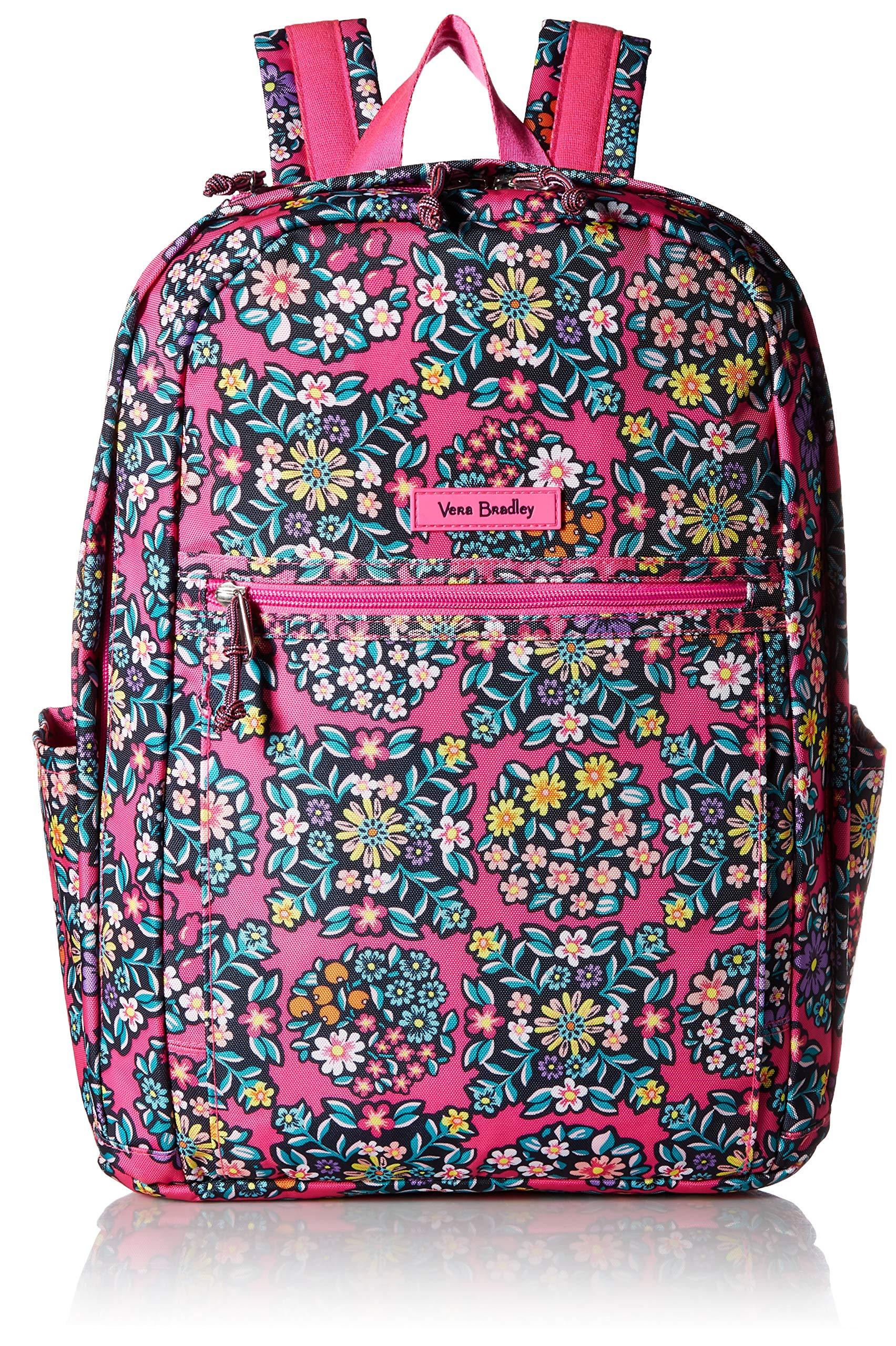Vera Bradley Women's Lighten Up Grand Backpack, Kaleidoscope Rosettes by Vera Bradley
