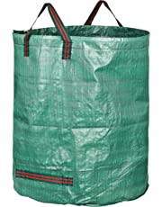 GardenMate Sacchi da Giardinaggio 500L Professional - Sacchi per rifiuti da Giardino - Polipropilene (PP) 150gsm - Robusto, antistrappo, Idrorepellente