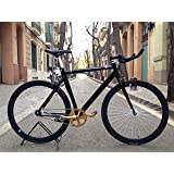 Bicycle fixie2-golden-black- Singlespeed Fixie/Single Speed.