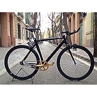 Vélo fixie2-golden-black- monomarcha Fixie/single speed.