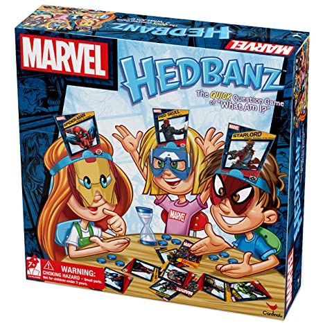 Amazon Marvel Hedbanz Board Game Toys Games
