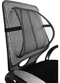 Mesh Lumbar Back Support for Office Chair Car Seat etc: Amazon.co.uk on chair cushion for office, chair with adjustable lumbar support, chair back support products, best ergonomic chair lumbar support for office,