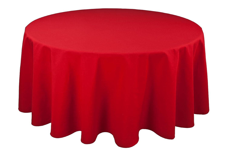 Amazon Riegel Permalux Cottonblend 120 Inch Round Tablecloth