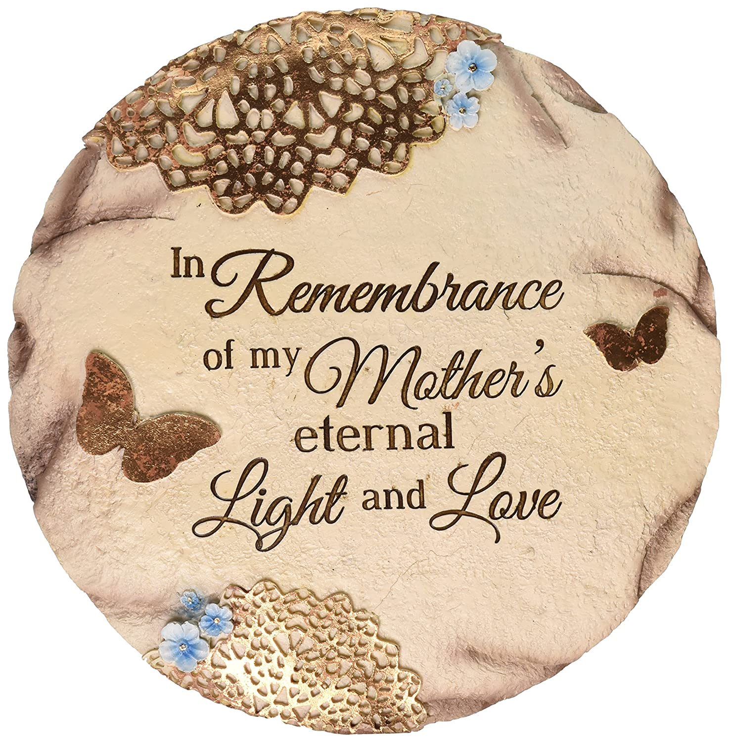 "Pavilion Gift Company 19069 ""Remembering Mother"" Memorial Garden Stone, 10-Inch"