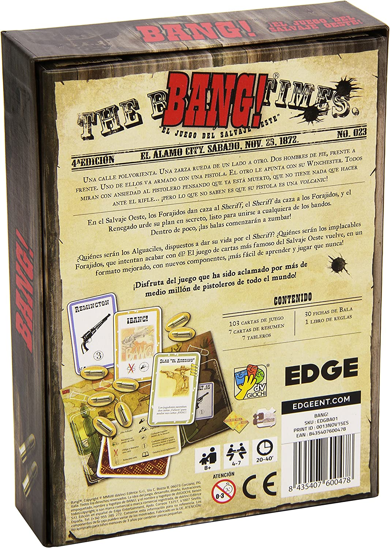 Edge Entertainment-Bang-JCNC, Multicolor (BA01): Amazon.es ...