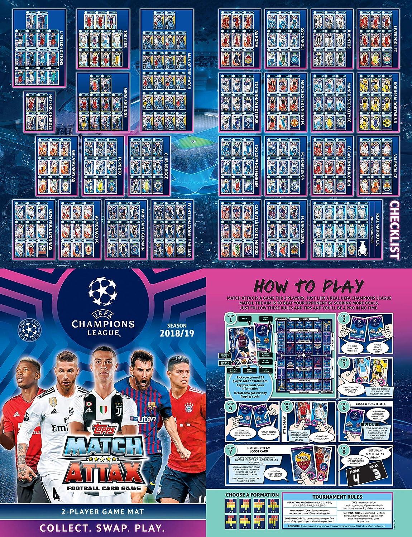 Match Attax 2018//19 18//19 hombre del partido 100 clubes y ediciones limitadas