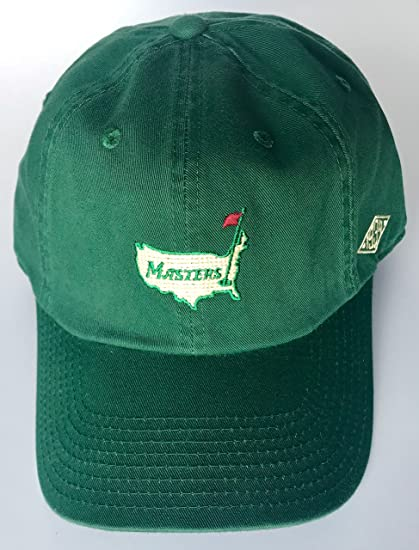 1c5afa6f005 Image Unavailable. Image not available for. Color  Masters golf Hat Augusta  National vintage logo green ...