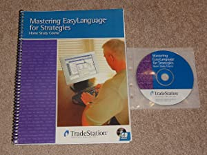 TradeStation Mastering EasyLanguage for Strategies Home Study Course CD & Book