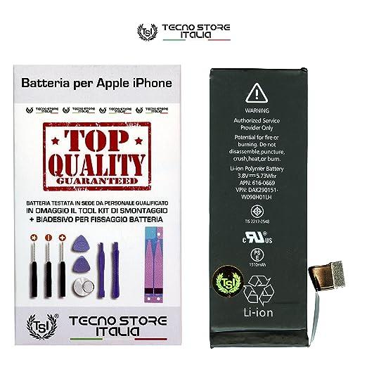 7 opinioni per TSI® Batteria di Ricambio per Apple iPhone 5C Originale, Capacità 1510 mAh apn