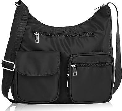 Hindom Large Travel Waterproof Storage Shoulder Bag Luggage Organizer Handbag