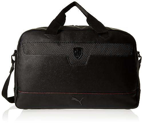 a61868740 Puma Ferrari Ls 074211 - Bolso de asas para hombre Negro negro Taille  Unique: Amazon.es: Zapatos y complementos