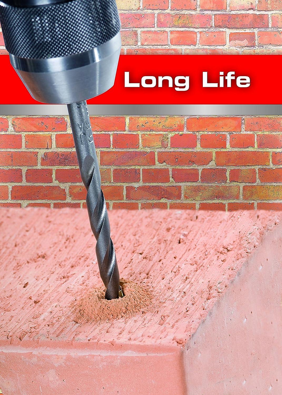 Alpen 4.0mm x 75mm Tungsten Carbide Masonry Drill for Brick Drilling