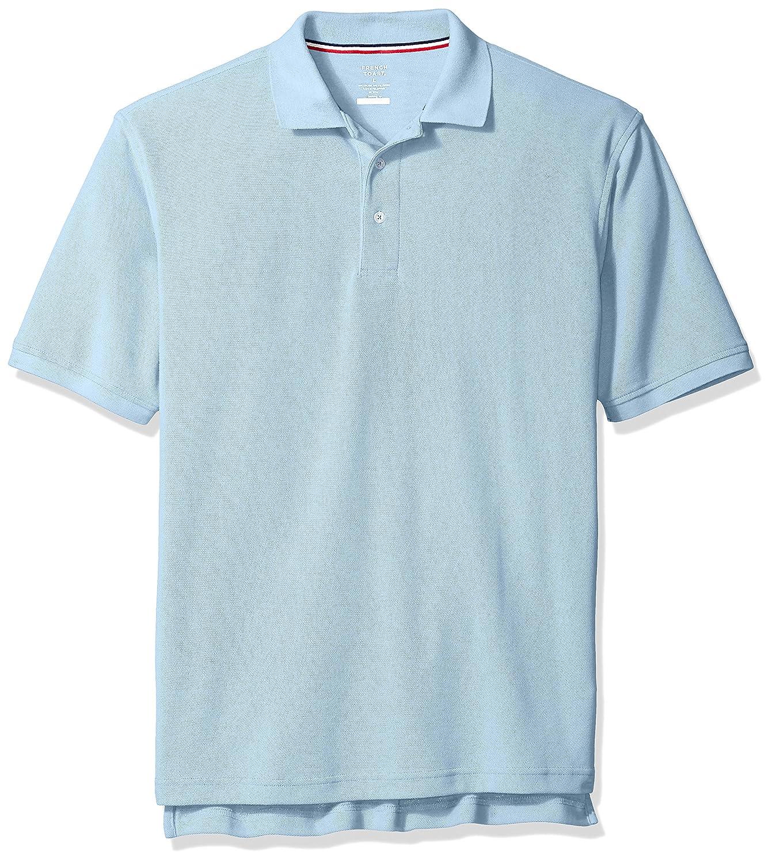 French Toast Boys' Short Sleeve Pique Polo Shirt SA9084Y