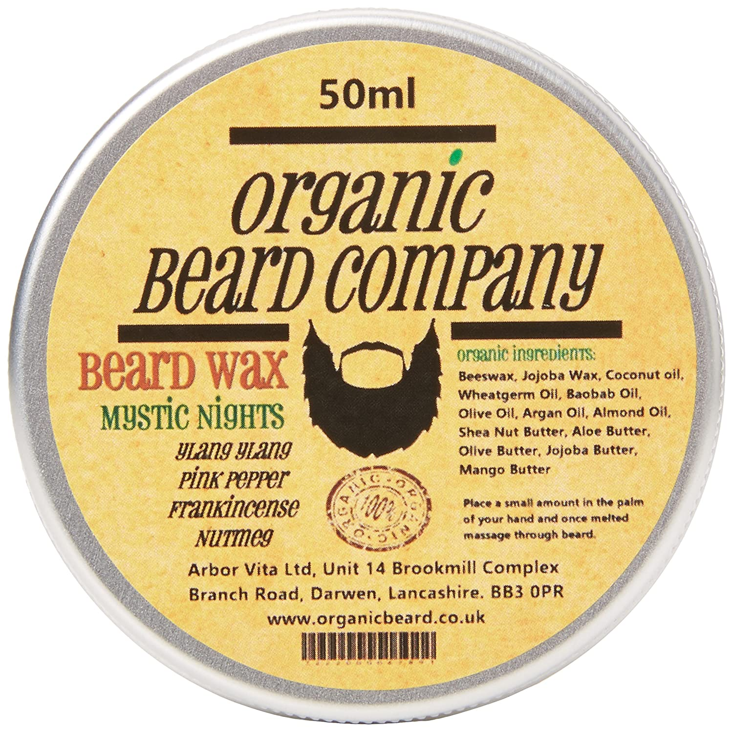 Organic Beard Mystic Nights Beard Balm 50 ml orgbeard15806
