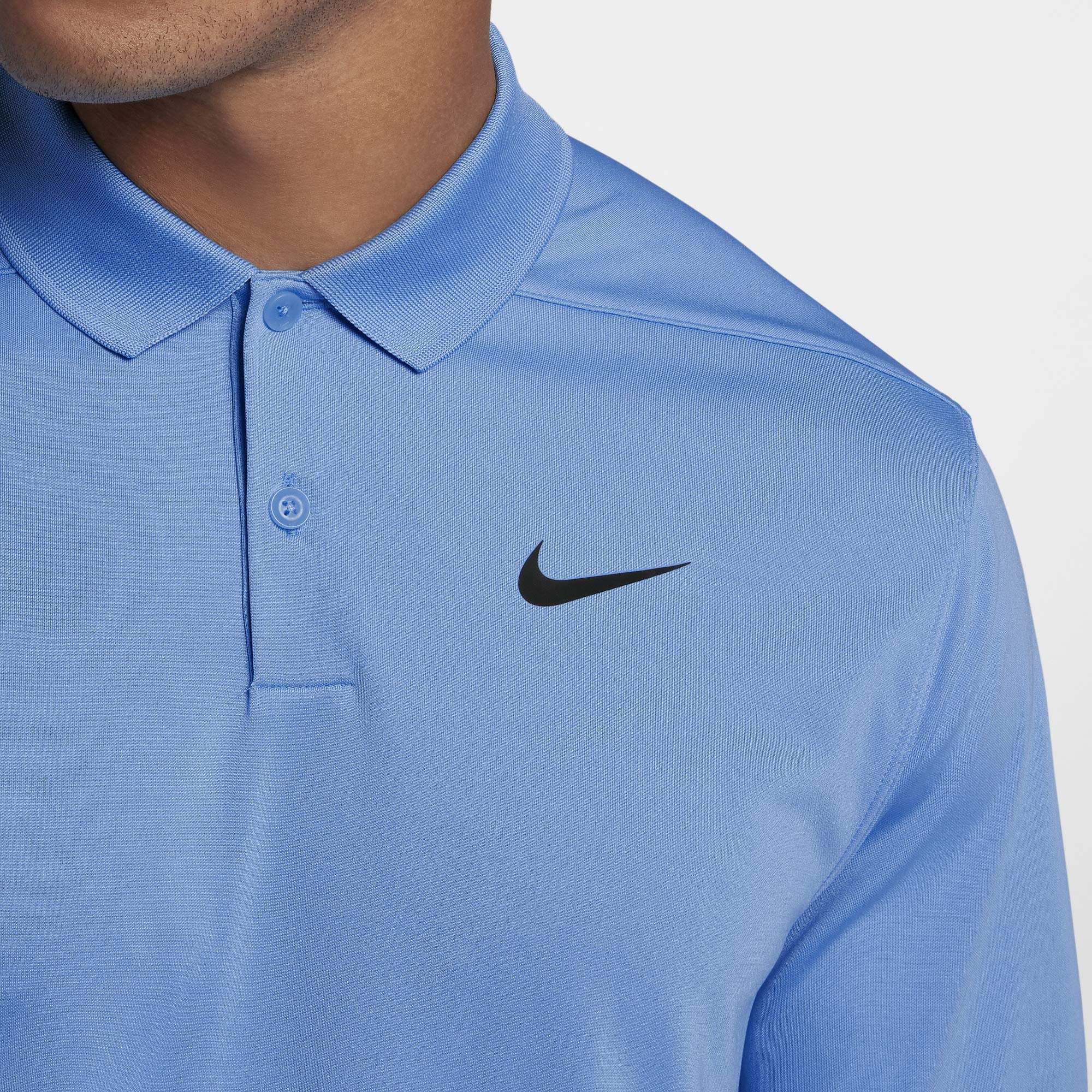 Nike Men's Dry Victory Polo Solid Left Chest, University Blue/Black, XX-Large by Nike