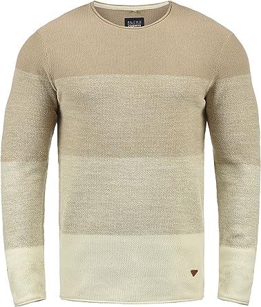 BLEND Benno Jersey De Punto Suéter para Hombre con Cuello Redondo ...