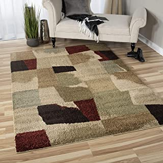 """product image for Orian Rugs Wild Weave Rampart Bisque Area Rug, 5'3"""" x 7'6"""", Red"""