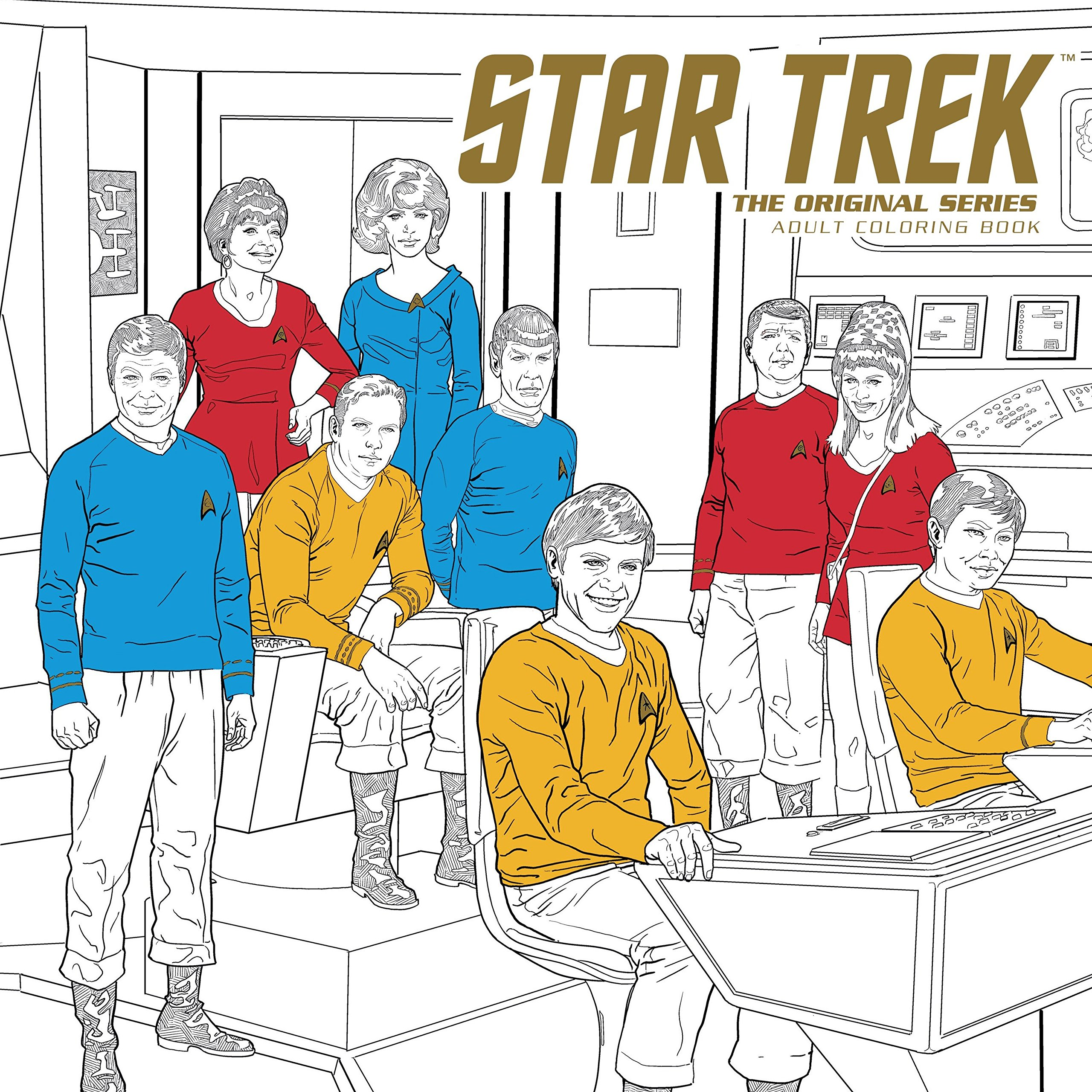 Star Trek: The Original Series Adult Coloring Book by Dark Horse Books