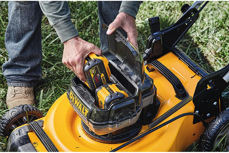 DEWALT DCMW220P2 2X20V Dw Lawn Mower  review