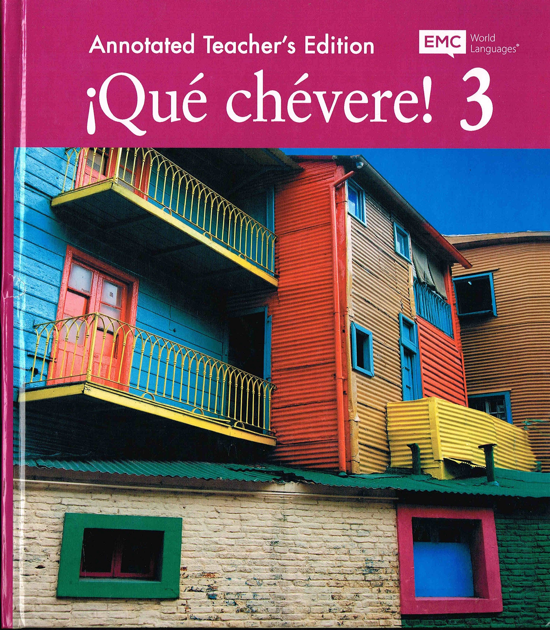 Download Que chevere 3 Annotated teacher's Edition ebook