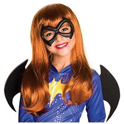 Rubie's Costume Girls DC Super Hero Batgirl Wig: Toys & Games