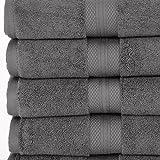 COMMERCIAL LUXURY 6 PIECE BATH TOWEL SET BY MARTEX