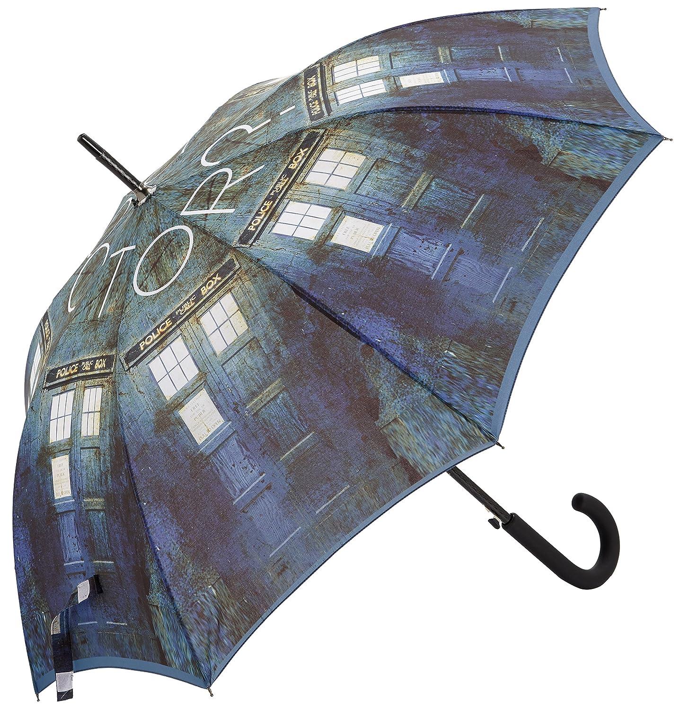 TARDIS Schirm - Offizieller BBC Doctor Who Stockregenschirm von LOVARZI 10437863