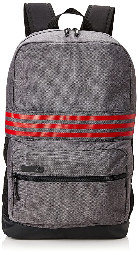 e284edc410 adidas 2017 Lightweight 3-Stripes Rucksack Medium Travel Backpack Mens Gym Laptop  Bag Dark