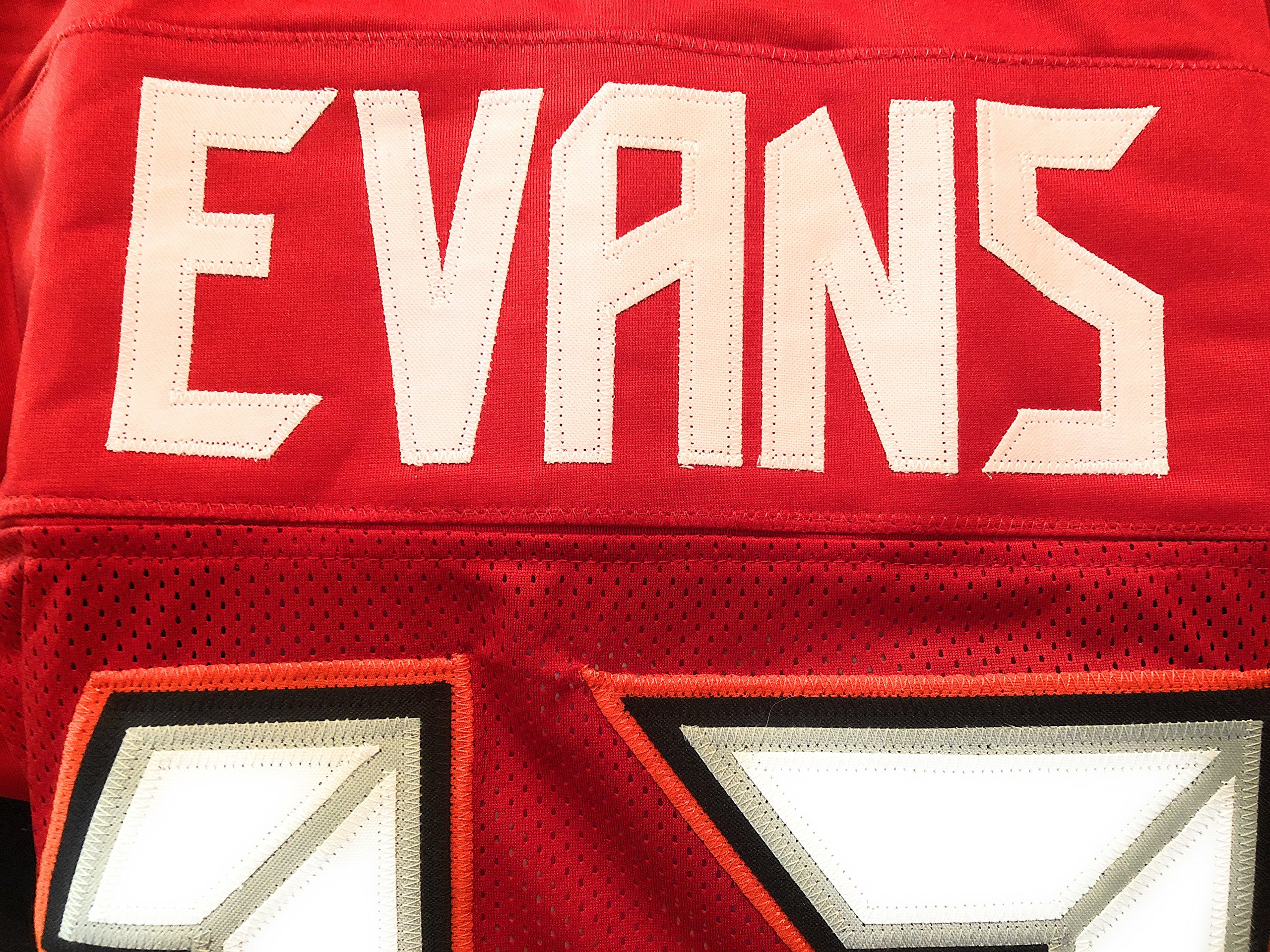 Mike Evans Tampa Bay Buccaneers Signed Autograph Custom Jersey JSA Witnessed Certified