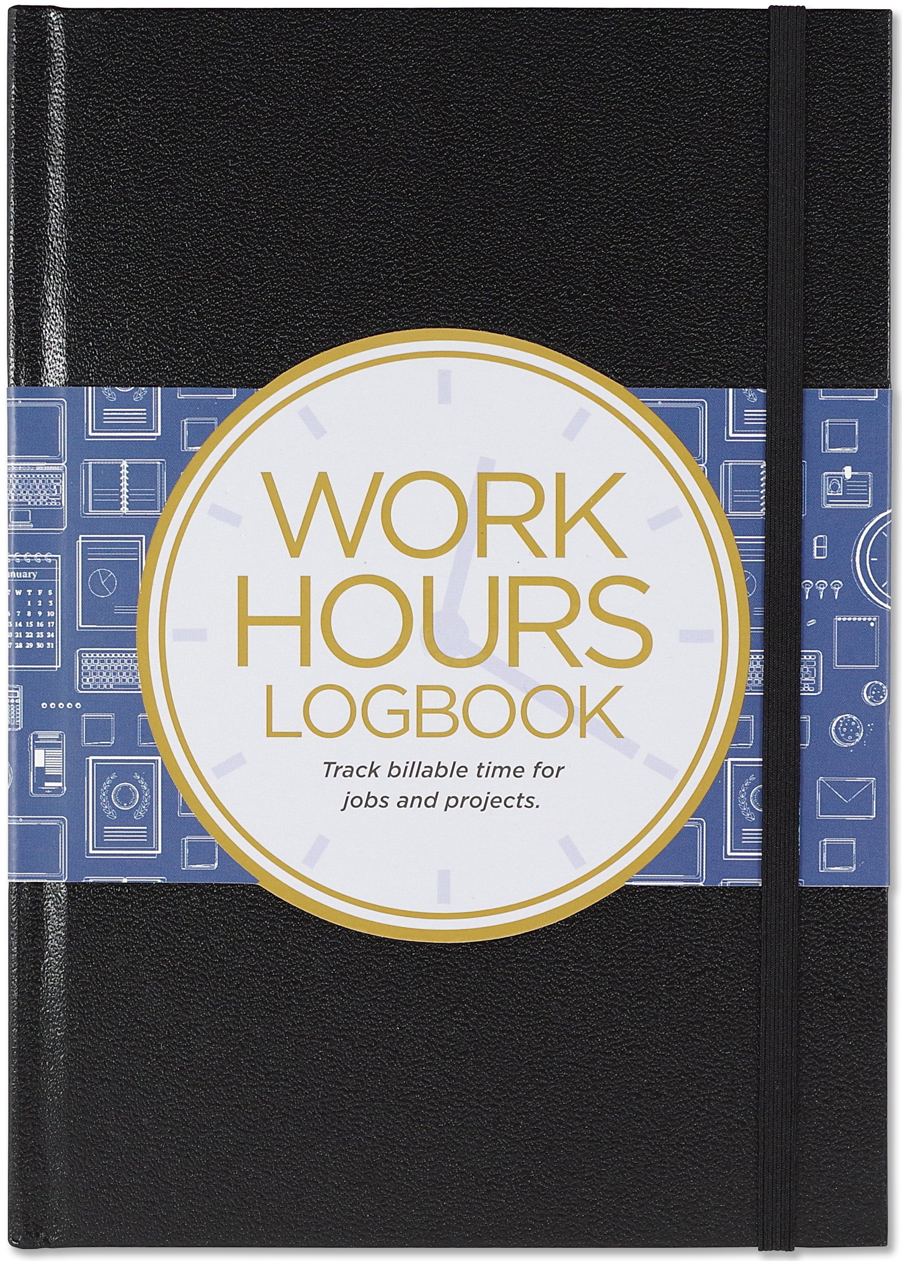 work hours logbook track billable time for jobs and projects inc