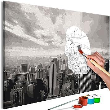 Murando Malen Nach Zahlen New York 60x40cm Malset Diy N A 0557 D A