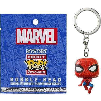 Funko Spider-Man Mystery Pocket POP! x Marvel Universe Mini-Figural Keychain (21155)