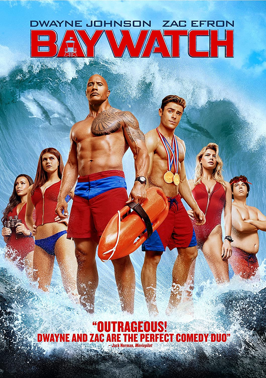 Baywatch Zac Efron Alexandra Daddario Seth Gordon Movies Tv