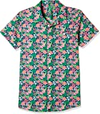 United Colors of Benetton Boy's Floral Regular Fit Shirt