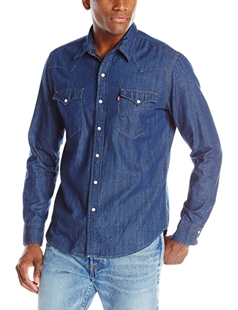 d9995bc3009 Levi s Men s Classic Western Shirt  Amazon.ca  Clothing   Accessories
