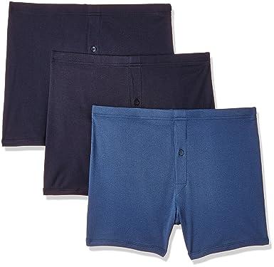 72d6530ed0 Marks & Spencer Men's Cotton Trunks (Pack of 3)  (0000020726065_8170V_Small_Navy and ...