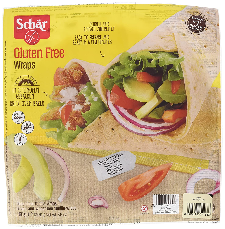 Dr. Schar Wrap Tortitas De Maíz - 160 gr