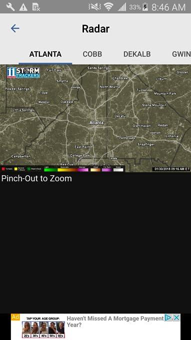 Atlanta weather hourly 11alive
