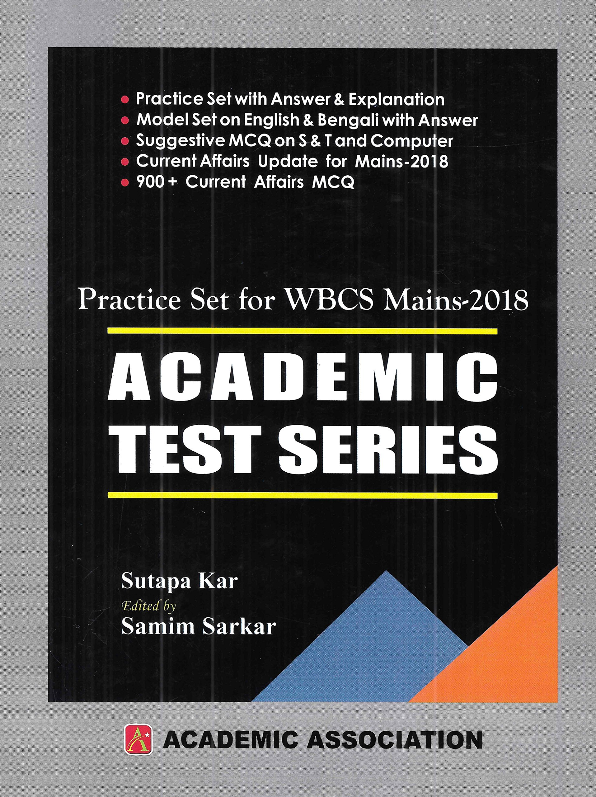 Amazon in: Buy Practice Sets for WBCS Mains - 2018 ACADEMIC