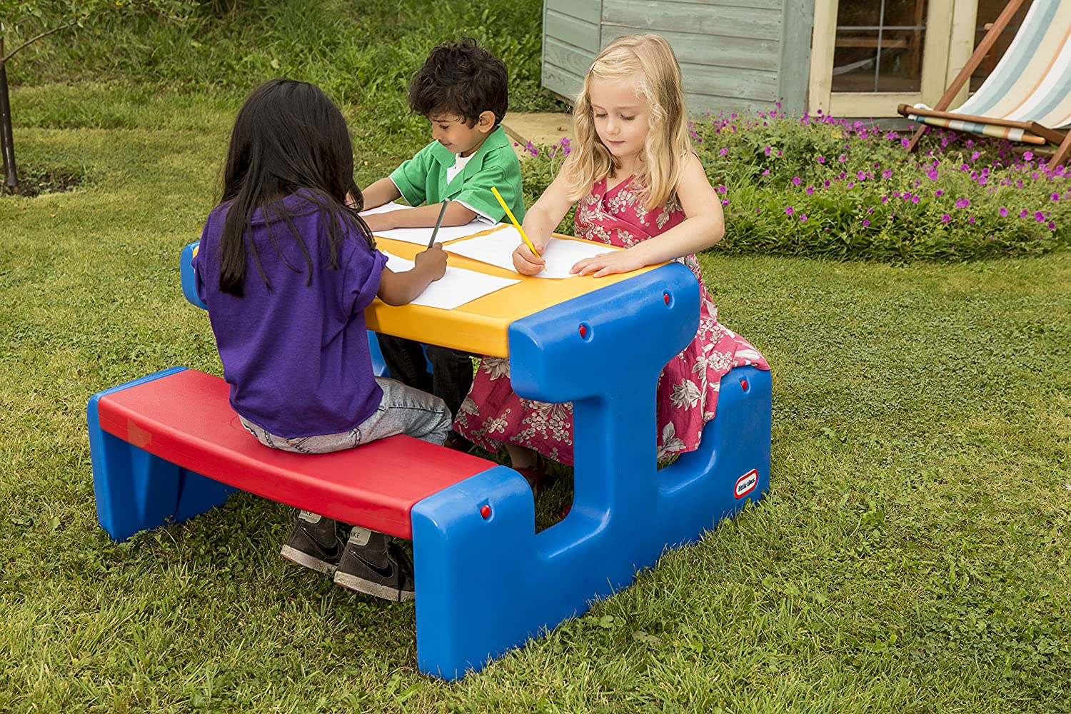 Little Tikes - 4668 - Grande table Pique Nique - Primaire