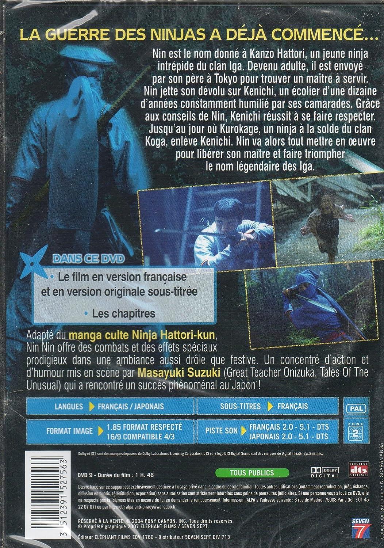 Amazon.com: DVD Nin Nin La légende du Ninja Hattori: Movies & TV