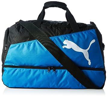 Puma Pro Training Football Bag Holdall Black Black Royal White Size ... 336e085904dfe