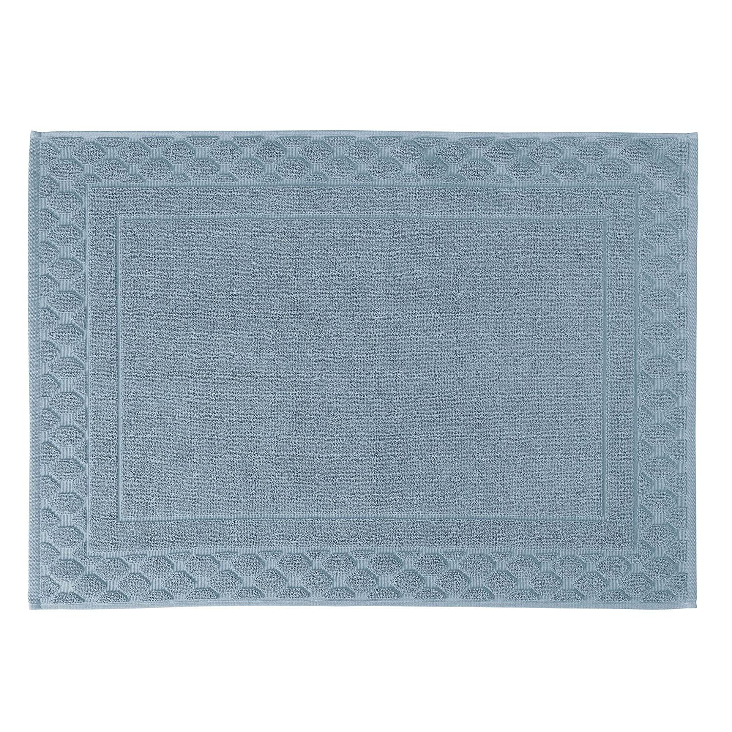 Descamps Foam Bath Mat, jade, 60 X 80 cm