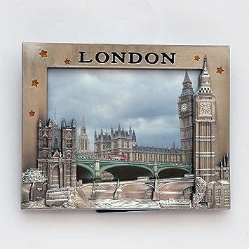 Amazon.com : I Love London Photo Frame - Metal Photo Frame - London ...